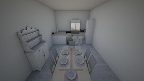 Dining Room and Kitchen - Minimal - Dining room  - by RoniRaindrop