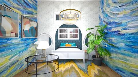 Van Gogh Art Room - Bedroom  - by kiwimelon711