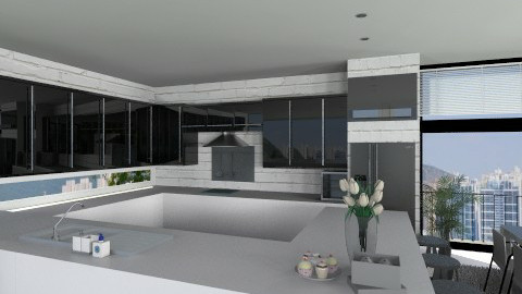 Kitchen005 - Modern - Kitchen  - by Ivana J