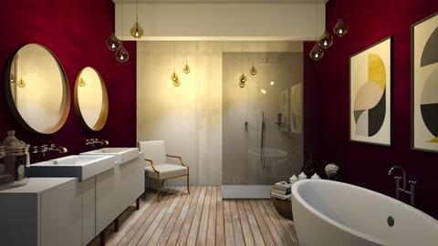 ruby - Vintage - Bathroom - by Ripley86