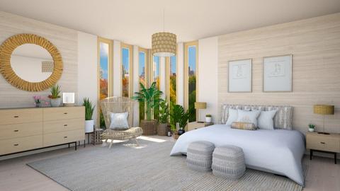 Feng Shui bedroom - Bedroom  - by Vicesz