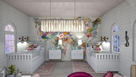 Twins Room - Bedroom  - by designer408340284