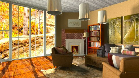Autumn Room - Country - Living room  - by hetregent