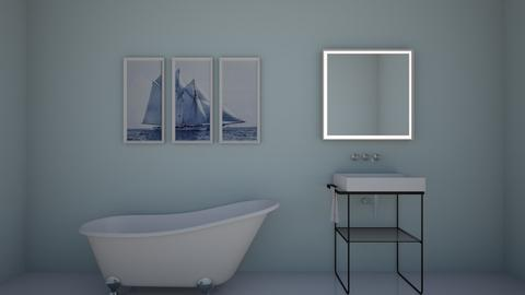 Sailing Bathroom - Bathroom  - by Cuddle_Puppy