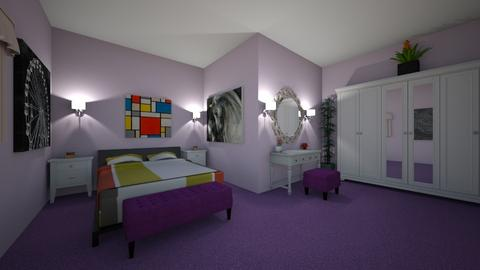 perfect room - Glamour - Bedroom  - by BTSfangirl