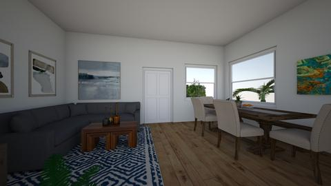 Katie Riley 3 - Living room  - by tarareddystyle