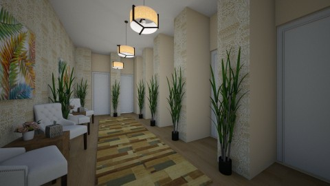 Hotel Hallway - Eclectic - by millerfam