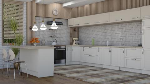 M_ Jolie - Modern - Kitchen  - by milyca8