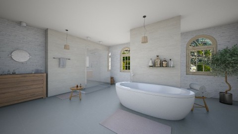 indust bath - Minimal - Bathroom  - by JM Krab