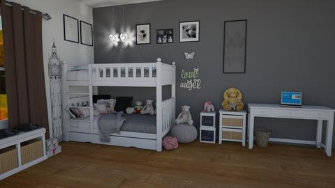 RMHC_IP_56 - Modern - Bedroom - by SunshineAllie