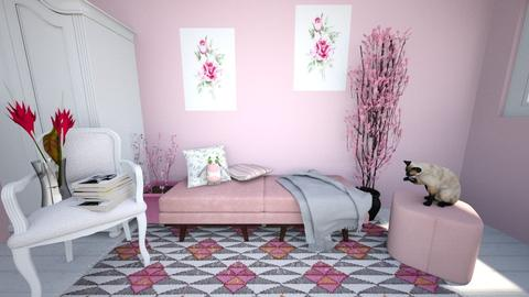 pinky - Classic - Bedroom  - by Alexa01