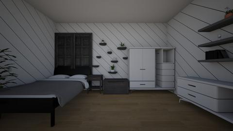 symmetrical room - by  Suga