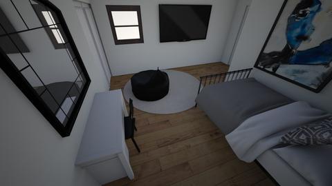 bedroom v2 - Modern - Bedroom  - by warnerlo