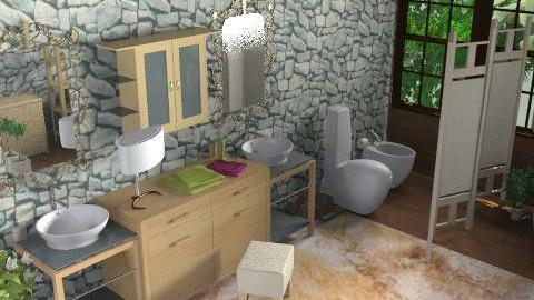 bagno purple 2 - Modern - Bathroom  - by livia87