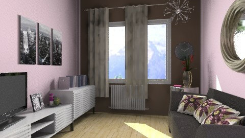 girly room - Modern - Bedroom - by Piechowiak Monika