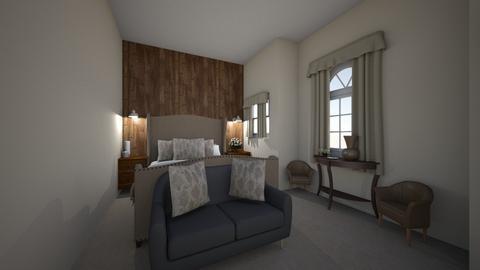 rustic bedroom - Rustic - Bedroom - by deleted_1558119258_Maya Rygalo