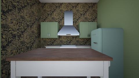 Dakota Johnson kitchen - Kitchen  - by meghanfritts