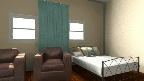 studio room - Modern - Bedroom - by Tramaine Higgins