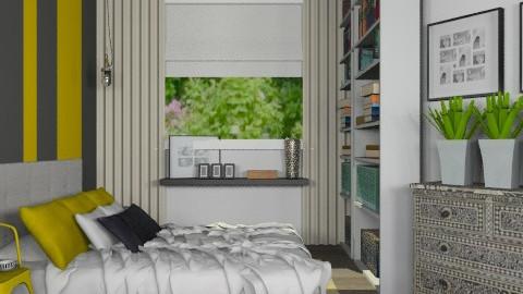 Golden Hounds - Modern - Bedroom  - by Carliam