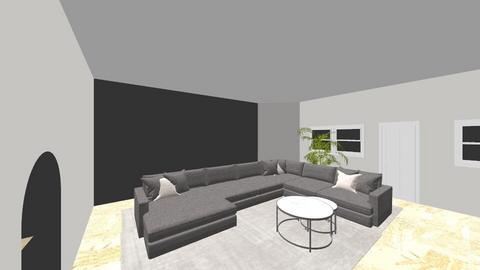 GH Living room - Living room  - by vanessatenkorang