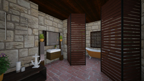 MY SPACE - Bathroom - by Almadeflores