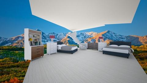 the beach bed - Living room  - by bintia c