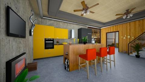 kitchen - Kitchen - by Polevik Evgenia