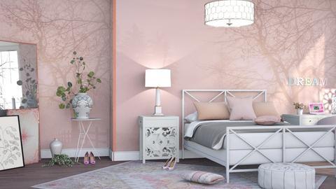 M_ Dream - Bedroom - by milyca8