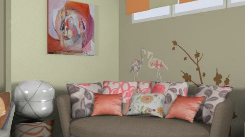 Homey - Eclectic - Living room  - by shelleycanuck