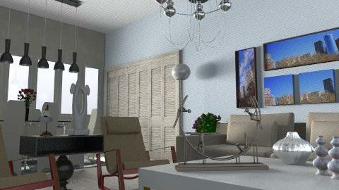 Back - Minimal - Living room  - by Rudibr