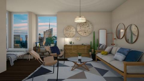 Sala moderna - by Nicolly Moura