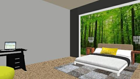 lenas dream bedroom - Bedroom - by Lena_Alderdice