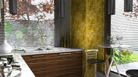kitchen_09 - Modern - Kitchen  - by decoart