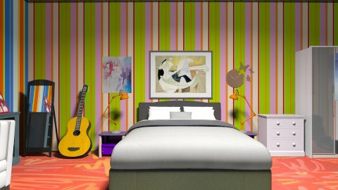 COLOURS - Modern - Bedroom - by 123detroit