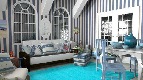 sailorroom - Rustic - Living room  - by livia87