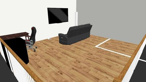 game room with vr space - by game room designer