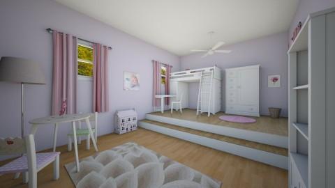 Girl Room - Kids room - by jokersdaughter669
