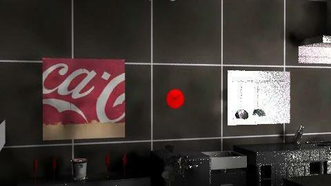 PURPLE RETRO {kitchen} 2 - Retro - Kitchen  - by SAW95