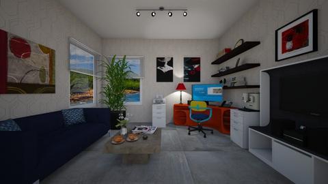 Modern Office - Office - by VeroDale