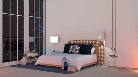 b l u e   b e d r o o m  - Bedroom  - by cozB12