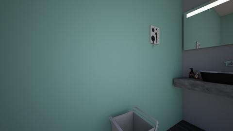 modern bathroom - Bathroom  - by emily3335553