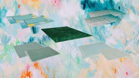 Painted Rugs - by ilikalle