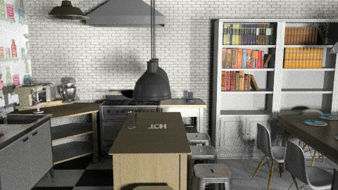 banjavciceva 8 - Eclectic - Kitchen  - by tatjana_novak