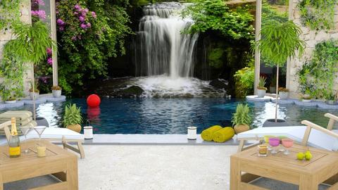 Hotel Pool Template - by BibiMarton