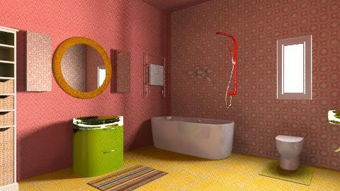 1970s Modern Bathroom - Retro - Bathroom  - by tillla01