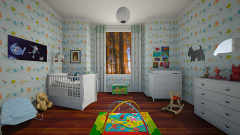 Little boy room - Kids room  - by starinthesky1987