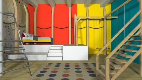 Climbing room - Kids room  - by marijnv99