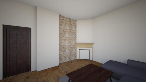1 tresna farba 2 ciemny - Living room  - by radek057