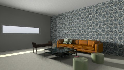 2 - Retro - Living room  - by messika88