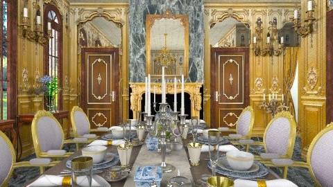 Dining with Style - Classic - Dining room  - by Bibiche